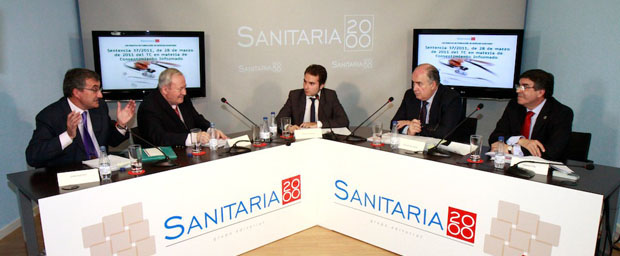 DEBATE DE DERECHO SANITARIO CELEBRADO EN LA SEDE DE SANITARIA 2000