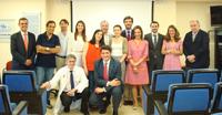Los alumnos del Máster de Derecho Sanitario de la Universidad CEU San Pablo visitan el Hospital HM Montepríncipe