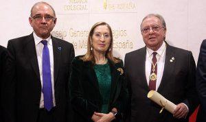 MURILLO, PRESIDENTE DE AMA, RECIBE LA MEDALLA DE ORO DE LA OMC
