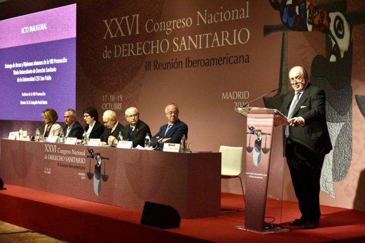 GRAN ÉXITO DEL XXVI CONGRESO NACIONAL DE DERECHO SANITARIO