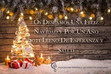 Felicitación navideña de la AEDS
